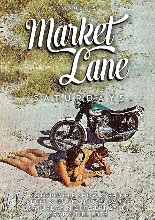 Manly Market Lane - Motorcycles