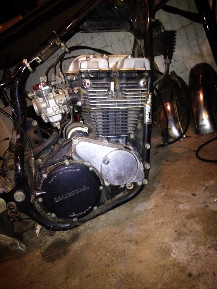 1981 Honda CBX550