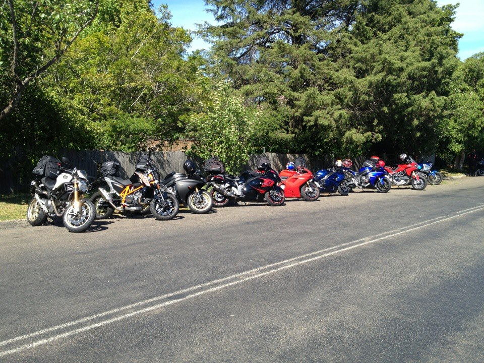 Most of the group from last year at Ye Olde Bicycle Shoppe in Bundanoon