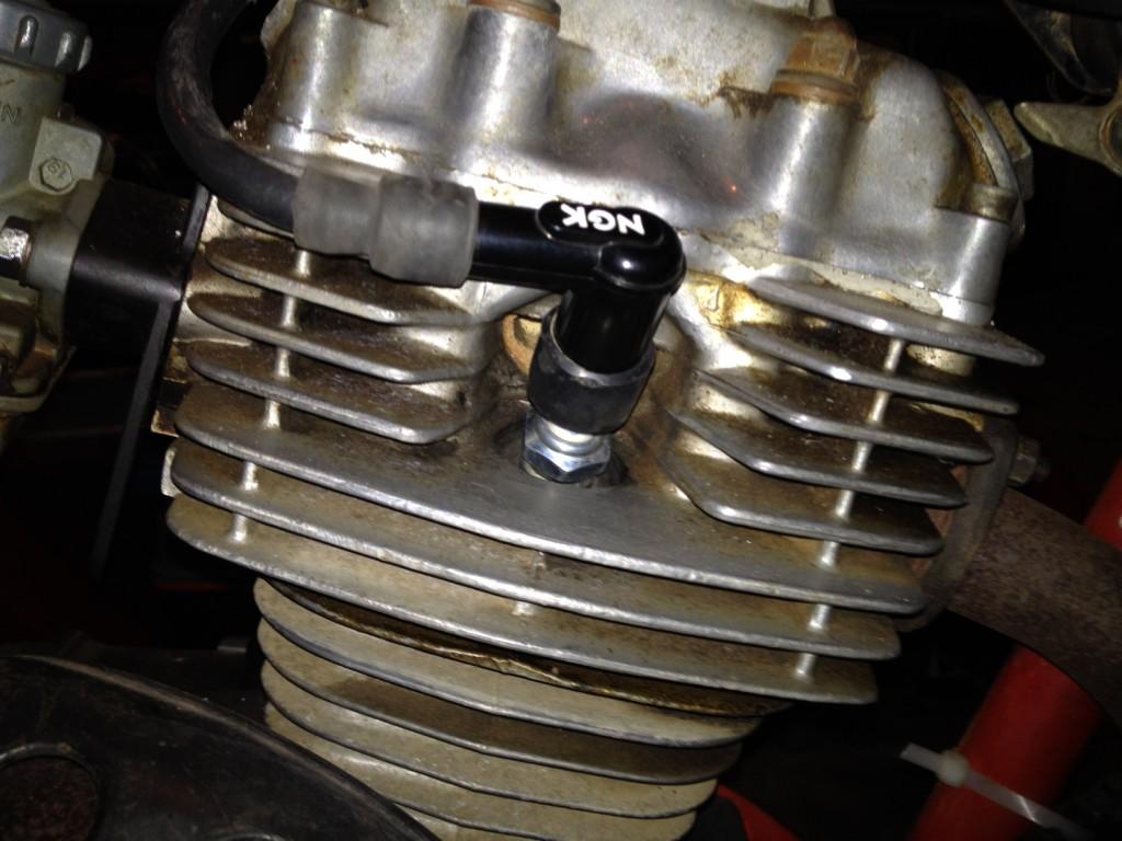 Continuity tested spark plug lead