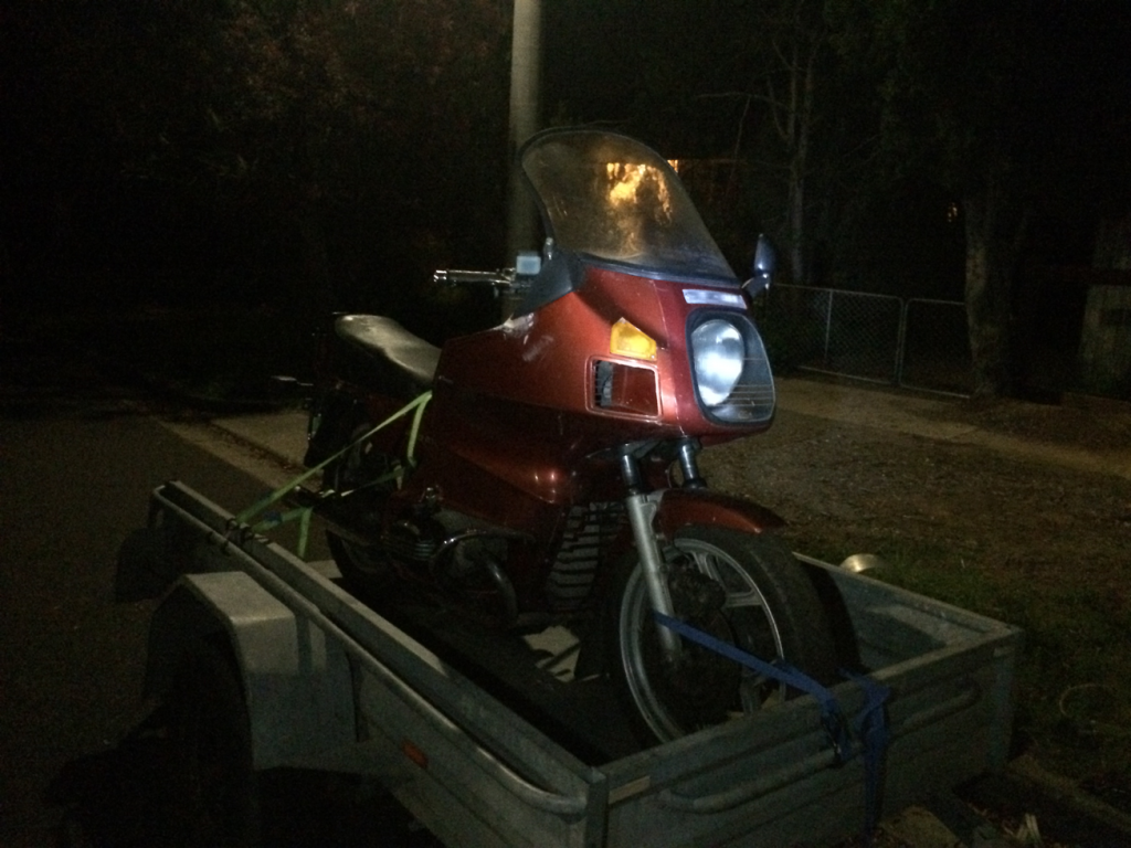 R80 On The Way Home