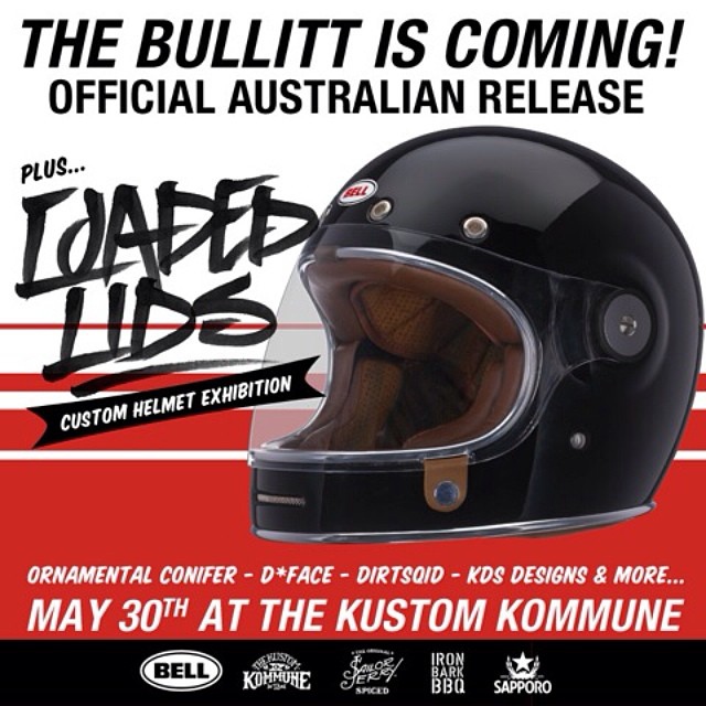 The Official Australian Release Of Bell's Bullitt