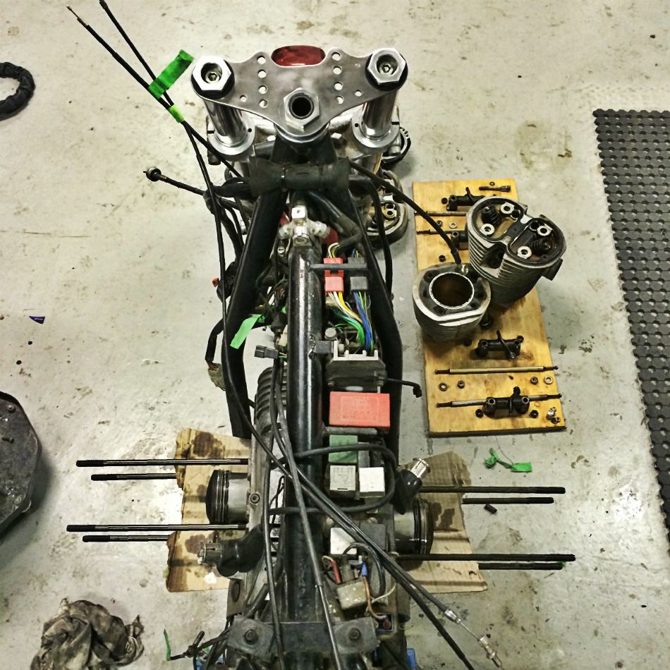 Disassembled Top-End