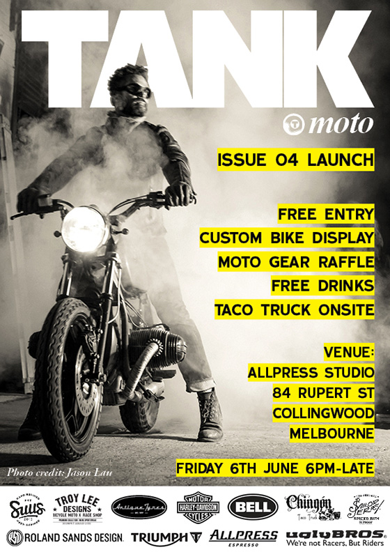 Tank Moto Issue 04 Launch