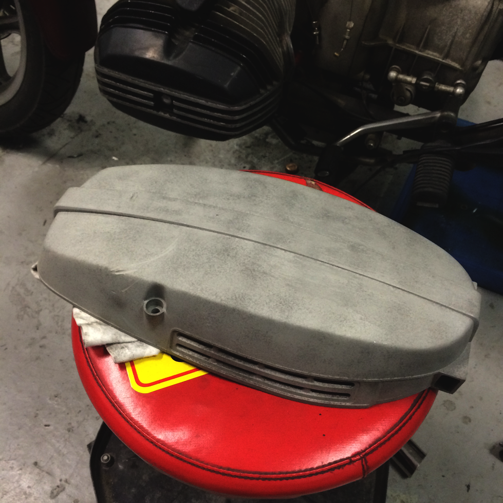 Alternator Cover (After)