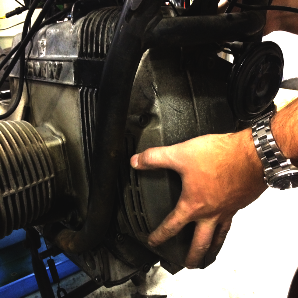 Alternator Cover Removal
