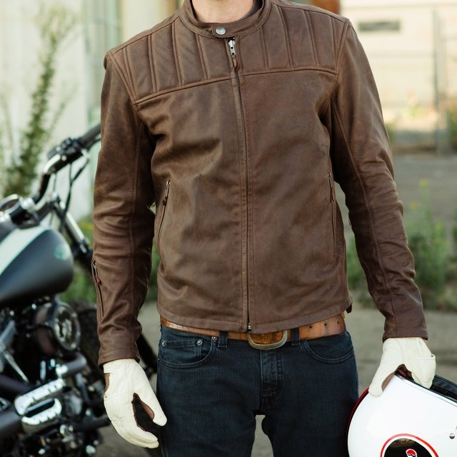 "My most casual riding jacket is a Roland Sands ""Enzo"""