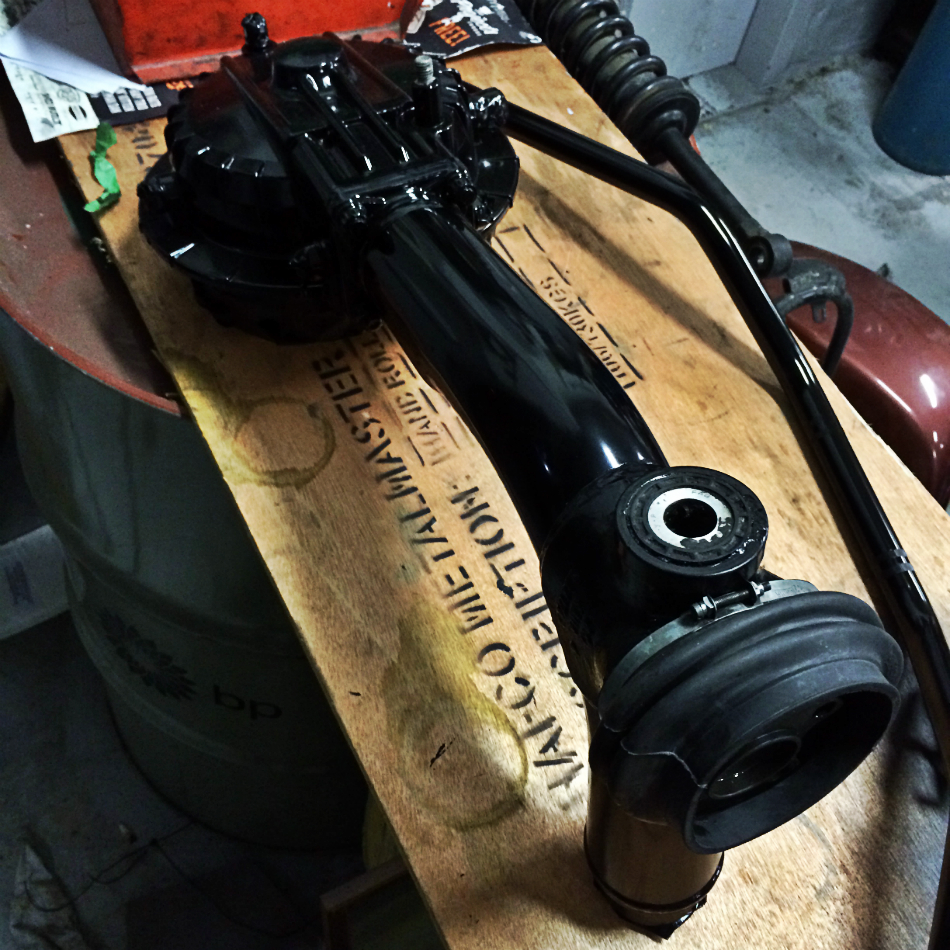 Rubber Gaiter Fitted To Drive-Shaft