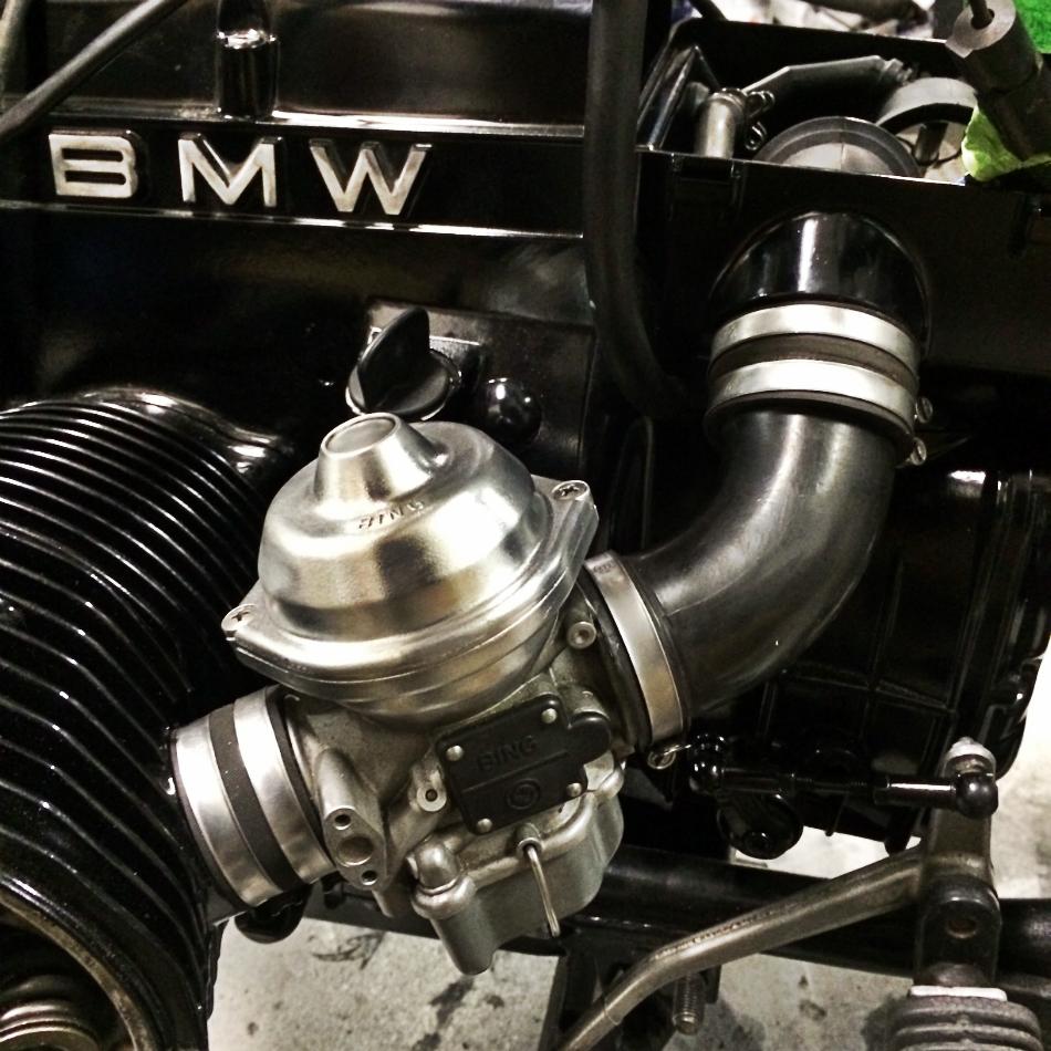 Carburetors Re-Installed