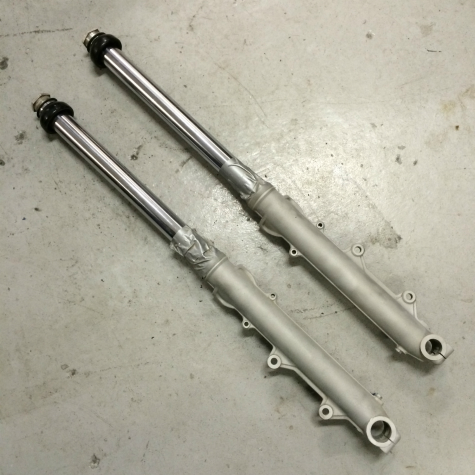 Forks Prepared For Paint