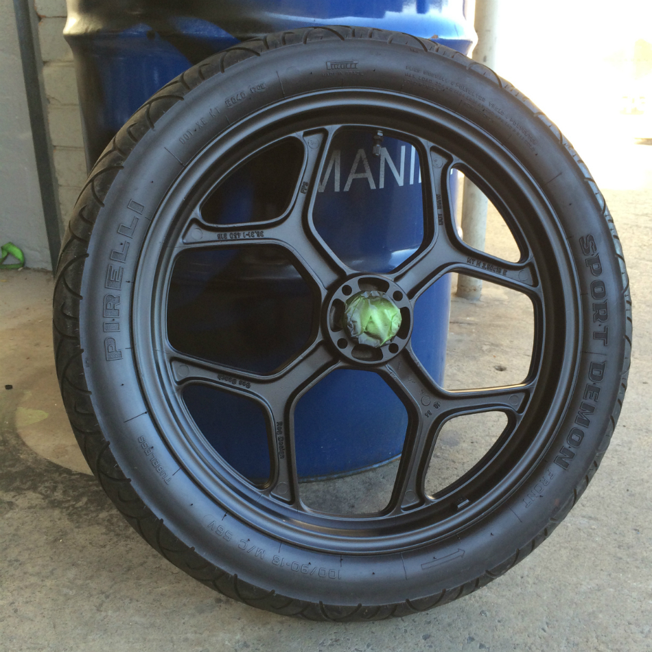 Painted Front Wheel