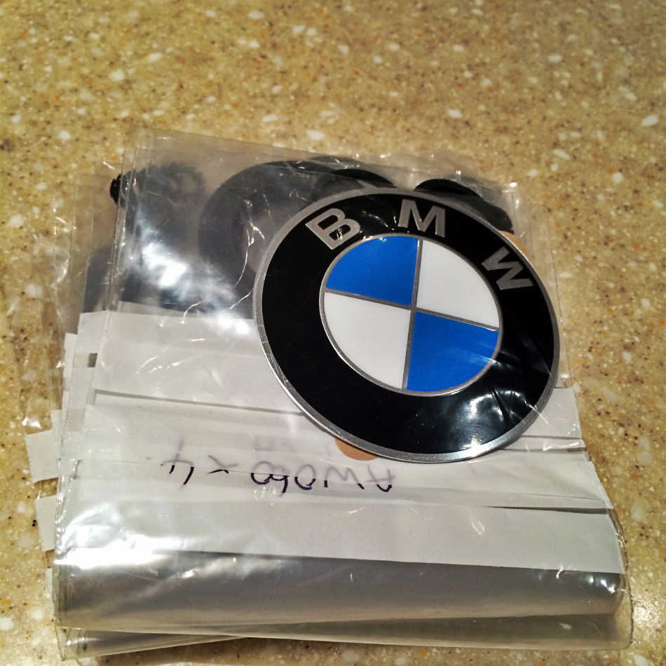 BMW (70mm) Badges