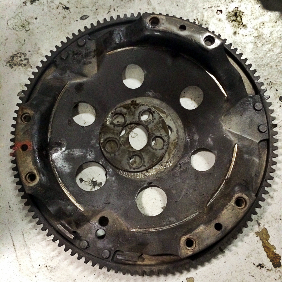 Flywheel Removed