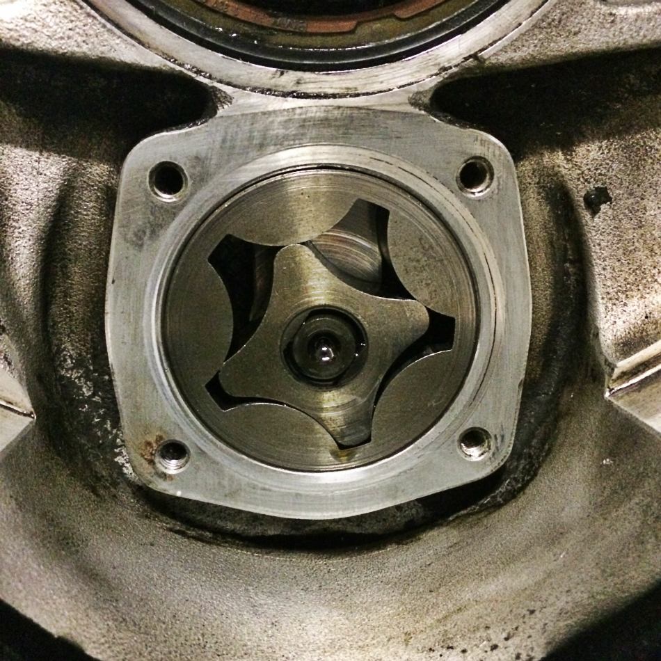 Oil Pump Housing Minus Cover