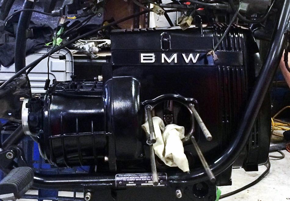 Motor Transmission Reinstalled