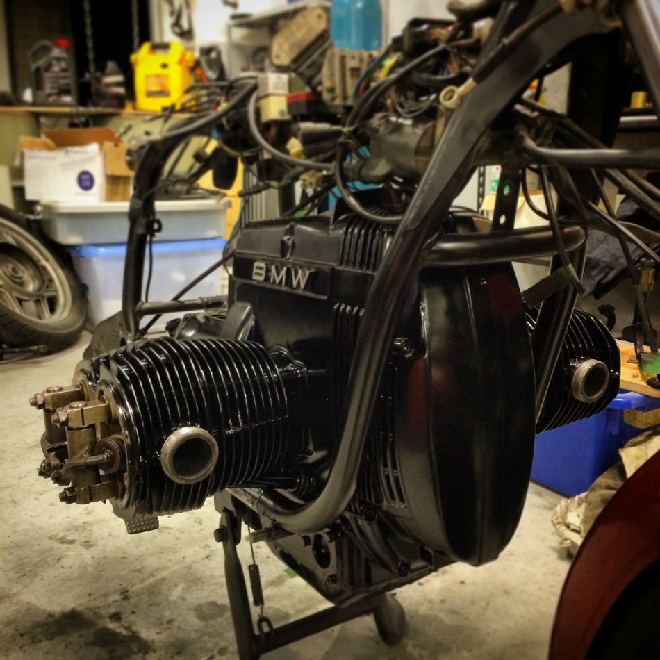 Motor Top End Rebuilt