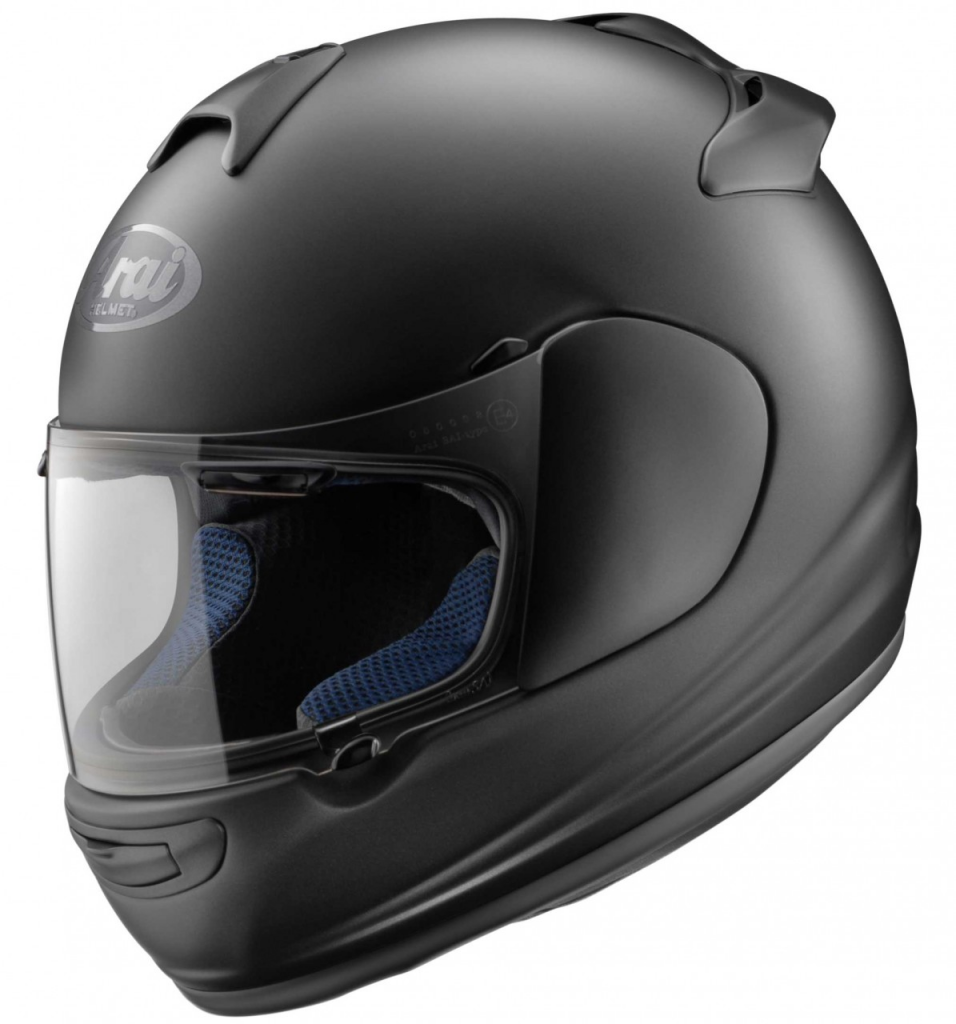 "My most used ""all round"" helmet is a black Arai Vector 2"