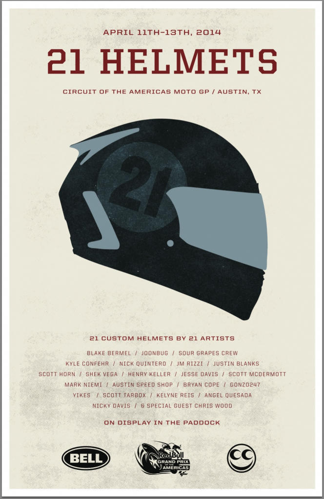 21 Helmets By 21 Artists