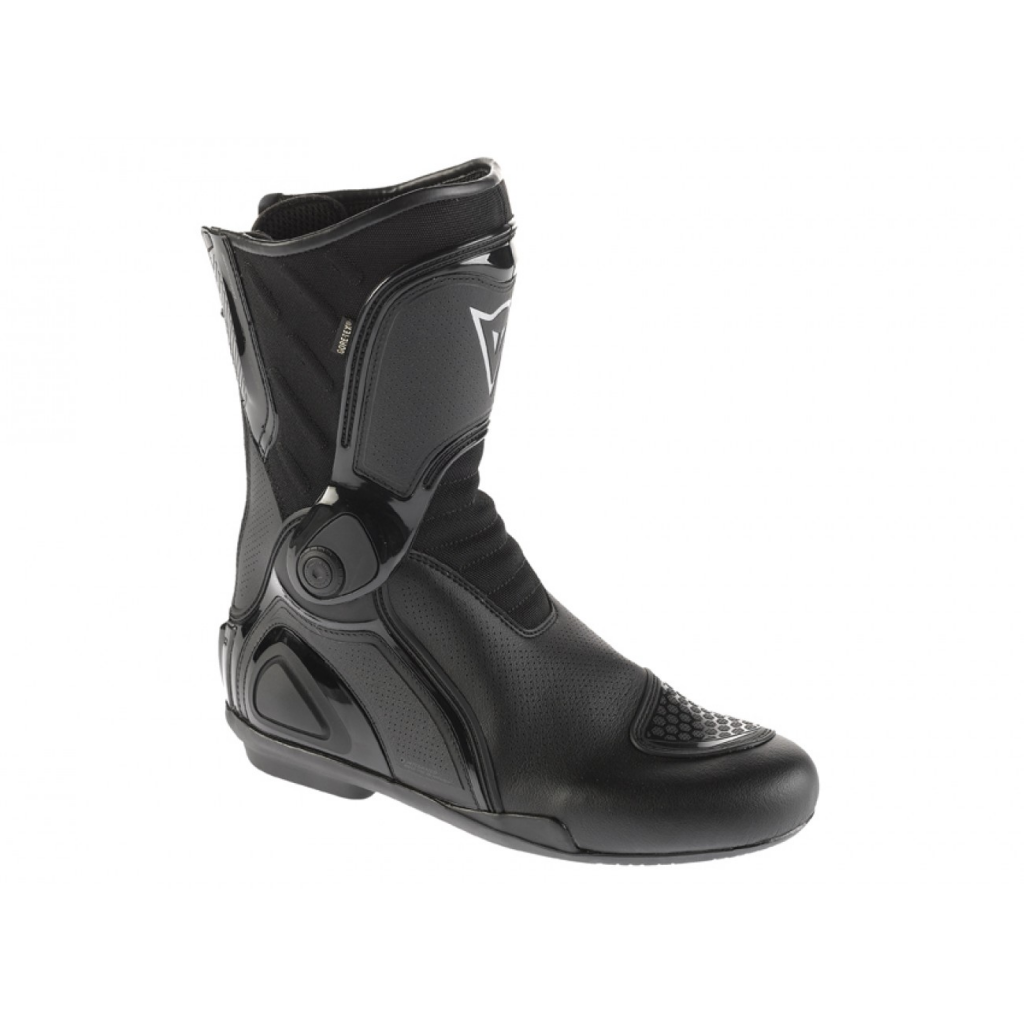 When the roads are wet, I use pull out my Dainese waterproof boots.