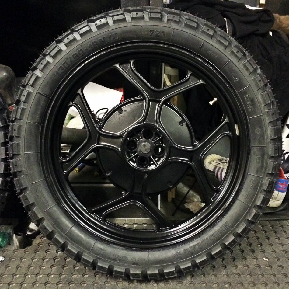 Heidenau K60 Tyres Fitted [Back]