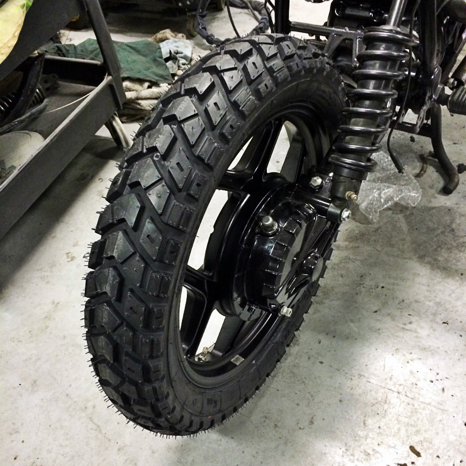 Heidenau K60 [130/80-18 Rear] Tyre Fitted