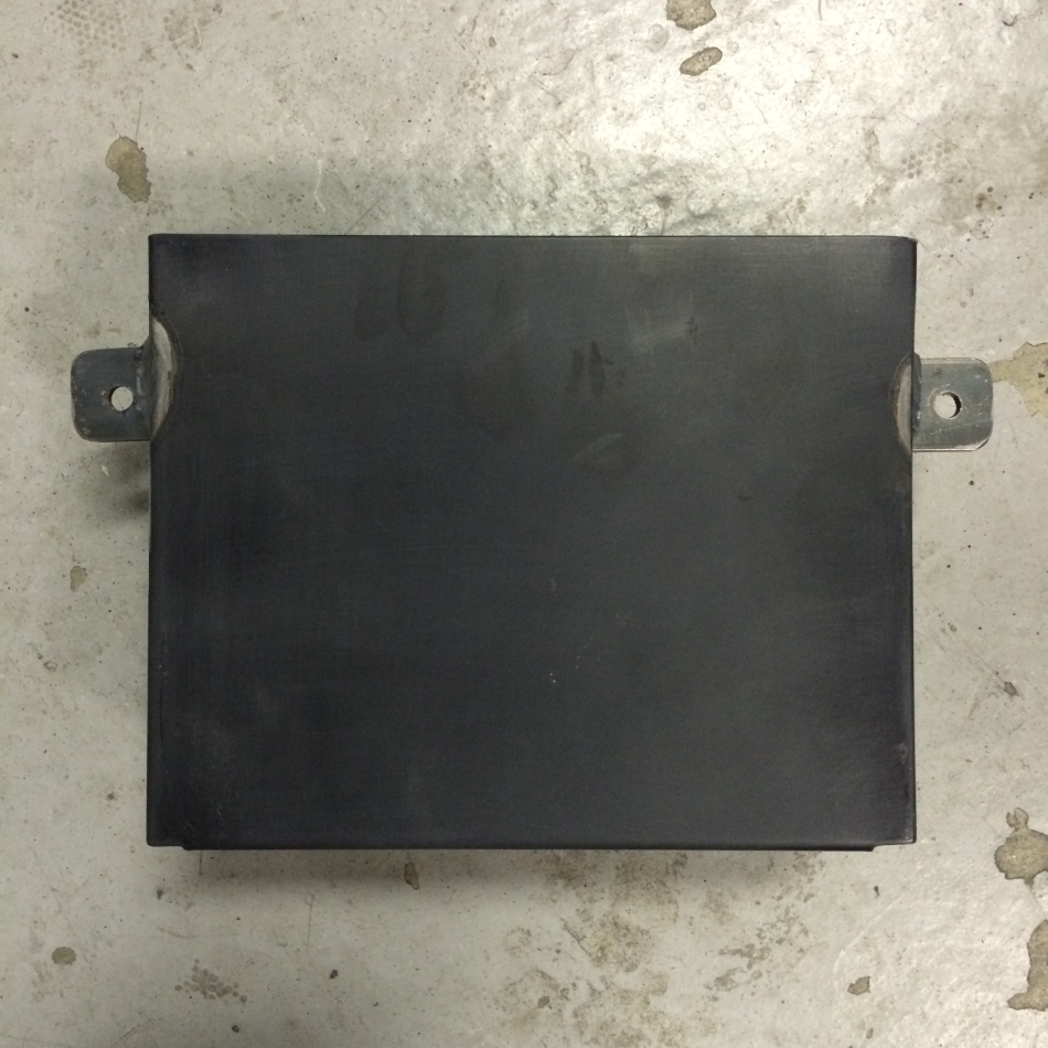 Battery Box With Welded Tabs