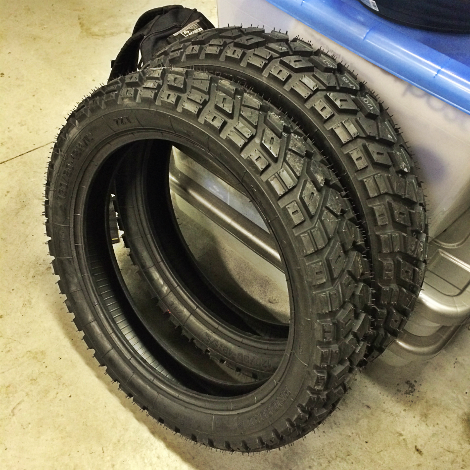 New Heidenau K60 Tyres
