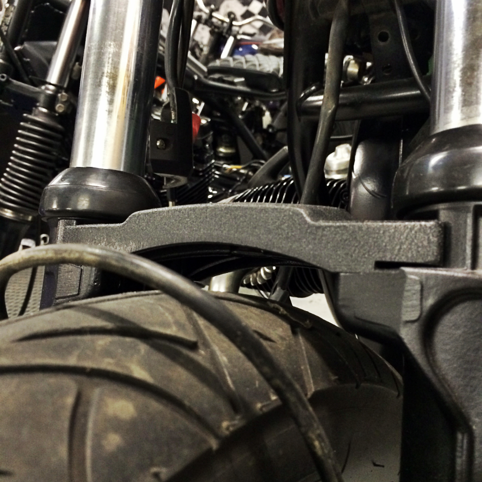 Front Tyre Guard Clamp Clearance