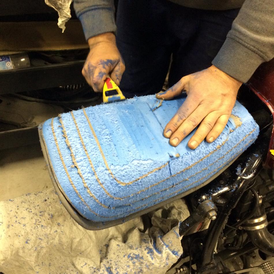 Shaping Seat Padding