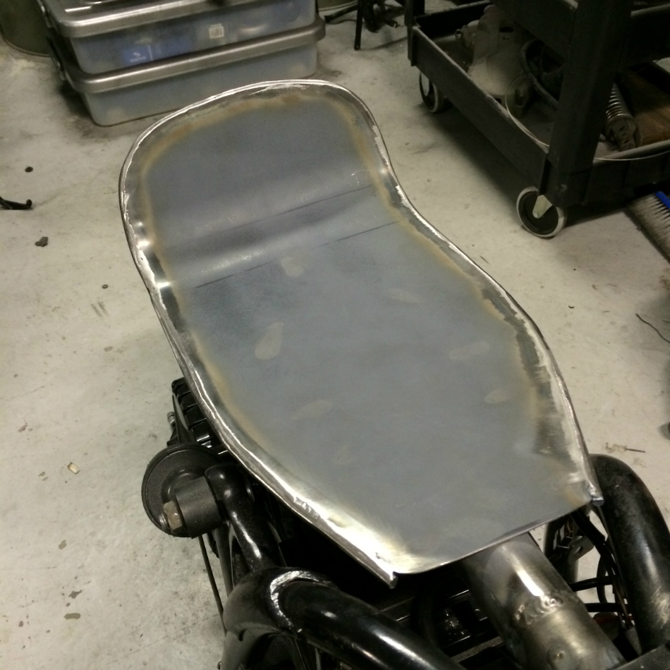 Added Lip To Soften Seat Pan Edges