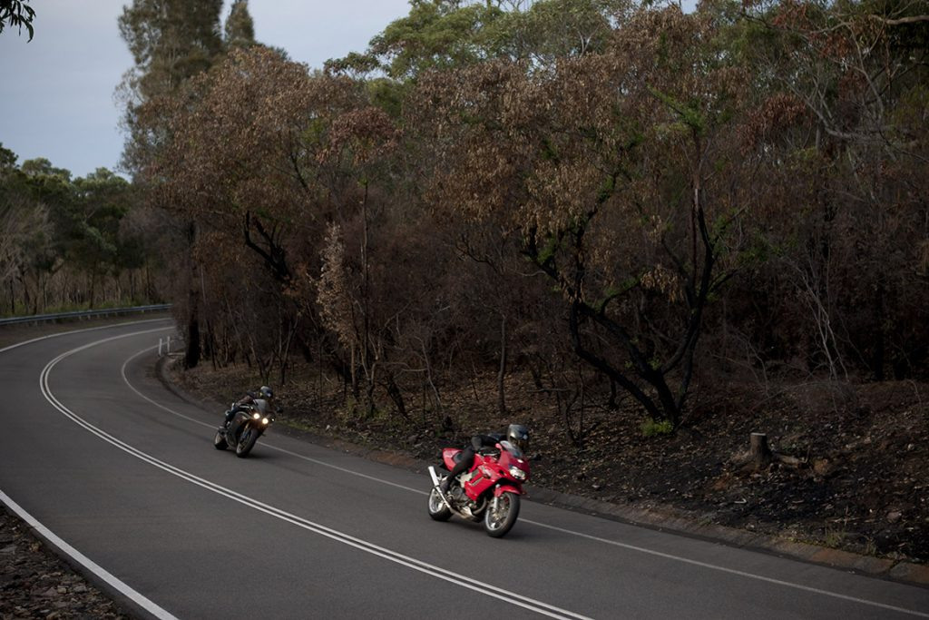 Yamaha R1 & Honda Firestorm