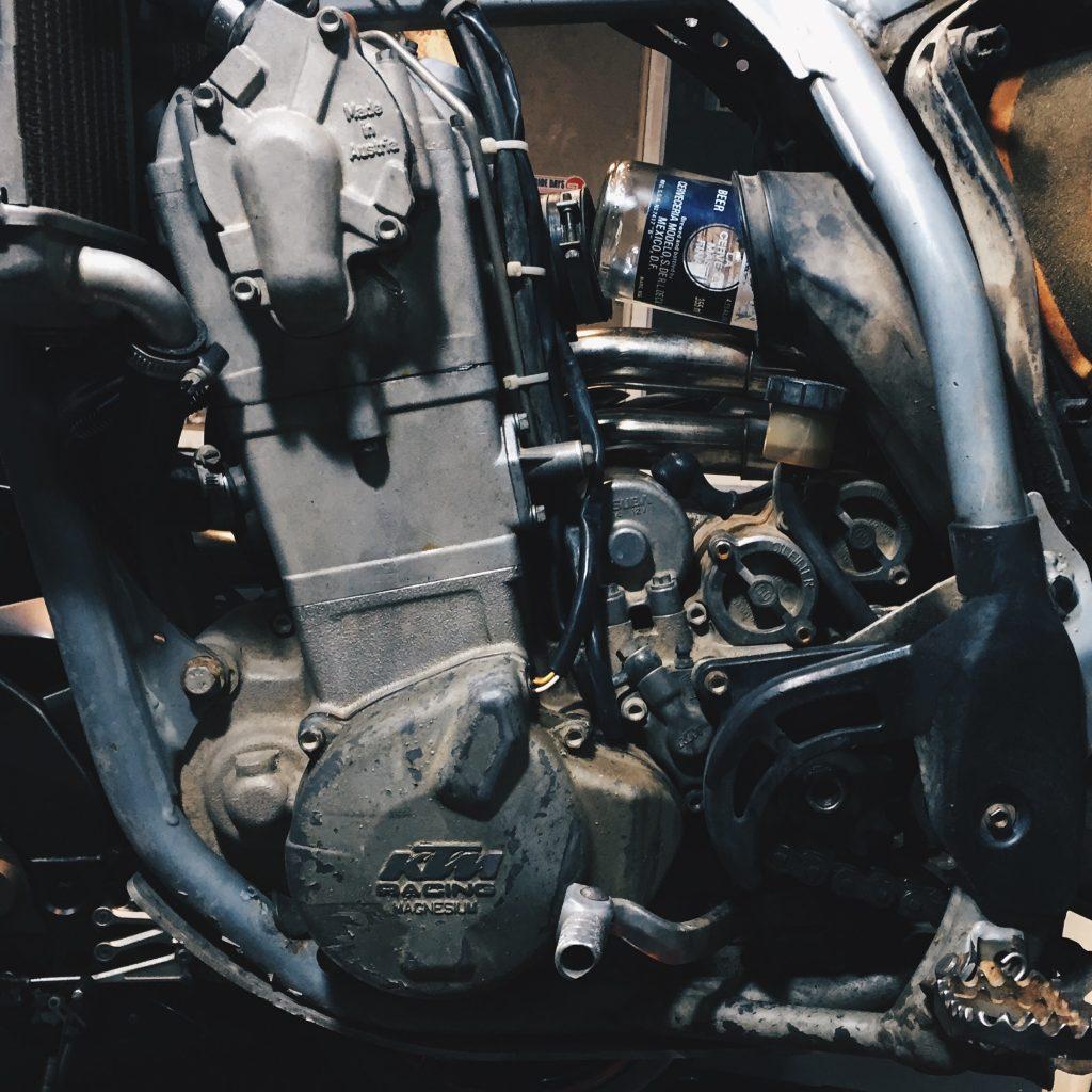 KTM 520 EXC Coronaretor