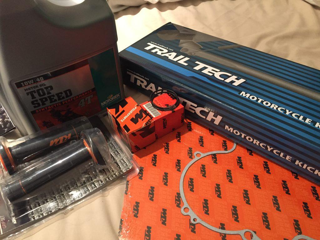 KTM 520 EXC Service Parts