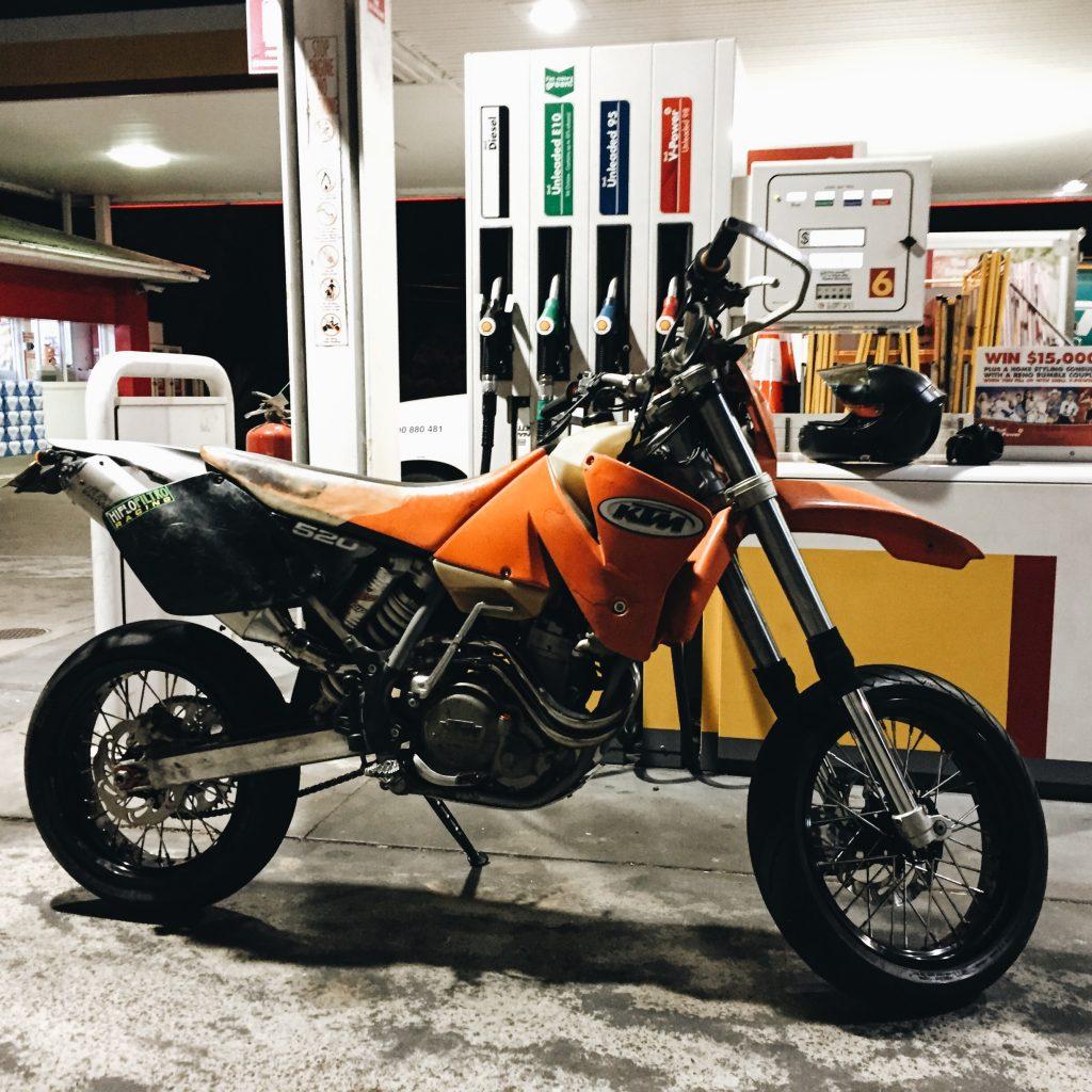 2001 KTM 520 EXC Supermotard